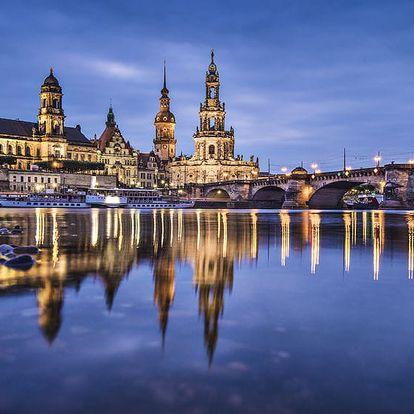Adventní Drážďany - trhy a nákupy na 1denním výletě z Prahy