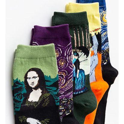 Dámské umělecké ponožky PAINT