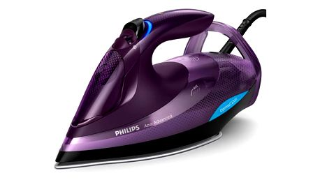 Žehlička Philips Azur Advanced GC4934/30 fialová