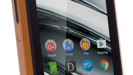 Mobilní telefon myPhone HAMMER IRON 2 Dual SIM (TELMYAHIRON2OR) černý/oranžový SIM karta T-Mobile 200Kč Twist Online Internet v hodnotě 200 Kč