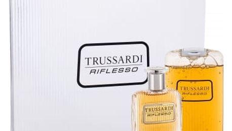 Trussardi Riflesso dárková kazeta pro muže toaletní voda 100 ml + sprchový gel 200 ml