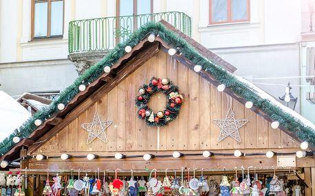 1denní výlet z Brna na vánoční trhy v Budapešti pro 1 osobu