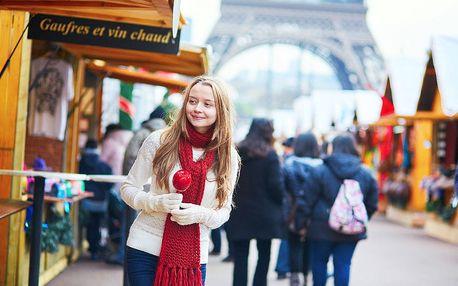 3denní výlet do vánoční Paříže a do termálího Ambergu