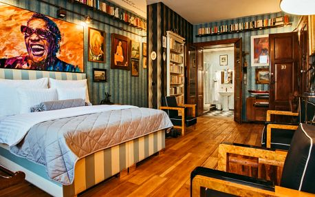 Romantický pobyt v luxusním designovém hotelu
