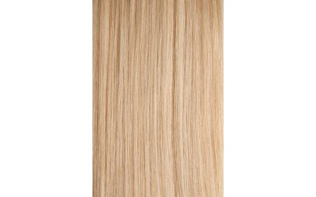 CLIP IN vlasy Deluxe - set 50 cm platinová blond