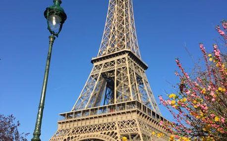 4denní zájezd do Paříže pro 1 os. na 3 noci letecky z Prahy