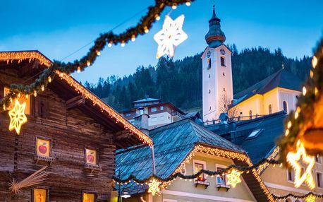 Výlet na adventní trhy v Salzburgu a průvod čertů ve Schladmingu