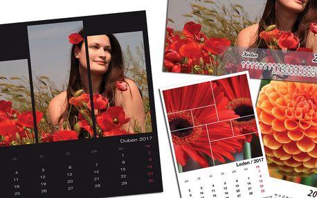 Nástěnné i plánovací fotokalendáře z vašich fotografií