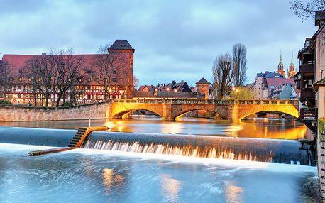 Norimberk v Německu - advetní trhy na výletě pro 1 osobu