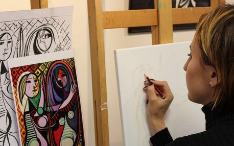 Workshop kreslení se zapojením pravé hemisféry