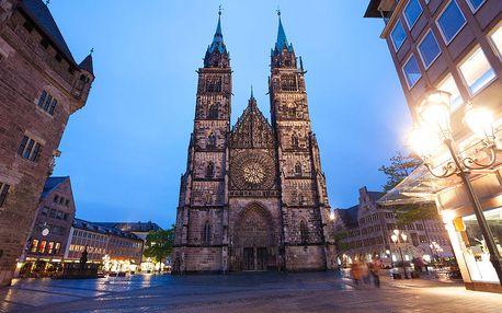 Norimberk v Německu - vánoční trhy: nedělní výlet z Prahy