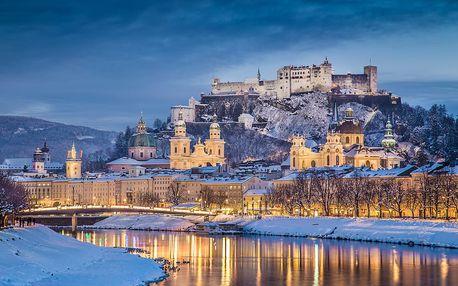 Adventní trhy v Salzburgu a průvod čertů v Gollingu 4. 12. 2018
