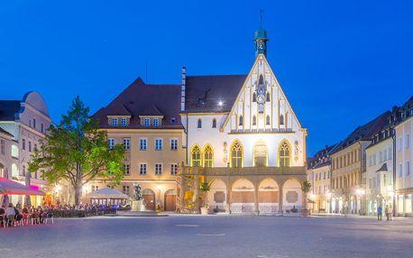 Bavorsko/Amberg, sobotní výlet za vánočními trhy a do aquaparku