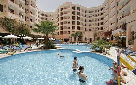 Egypt - Hurghada na 8 dní, all inclusive nebo polopenze s dopravou letecky z Prahy 200 m od pláže