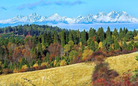 Podzim v krásných apartmánech ve Vysokých Tatrách
