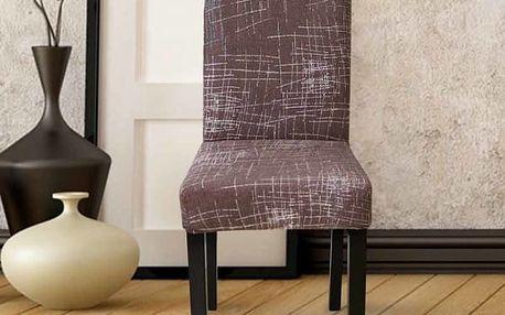 Elastický potah na kuchyňskou židli - 18 variant