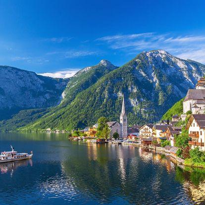 Kouzelný Hallstatt, solné doly i plavba lodí