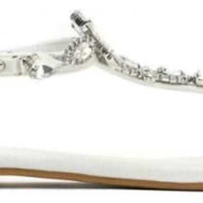 Dámské bílé sandály Chantelle 7265
