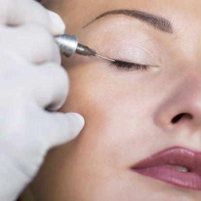 Permanentní make-up vybrané oblasti v Karlíně