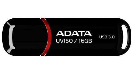 USB Flash ADATA DashDrive UV150 16GB černý (AUV150-16G-RBK)