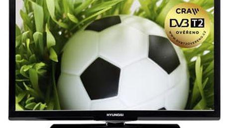 Televize Hyundai HLP 28T272 černá