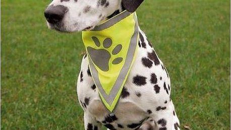 Reflexní šátek pro psa