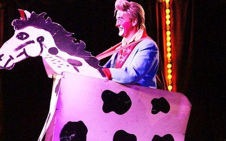 1x vstup pro dospělého nebo dítě do cirkusu Andres v Praze s klauny, akrobaty a zvířaty