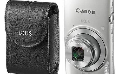 Digitální fotoaparát Canon IXUS 190 + orig.pouzdro stříbrný (1797C010)