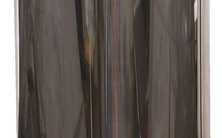FAVE Nerezový pedálový kulatý koš 5l