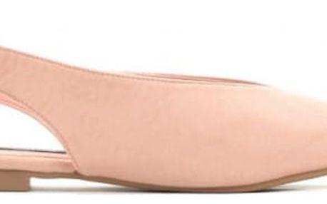 Dámské růžové sandály Hellen 028