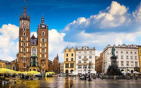 Pobyt u Krakova jen 600m od Solného dolu Wieliczka