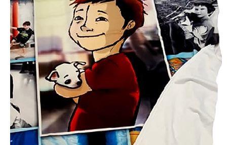 Fleecová hřejivá fotodeka dle Vaší fantazie. Pro Vaše domácí mazlíčky i varianta pro děti.