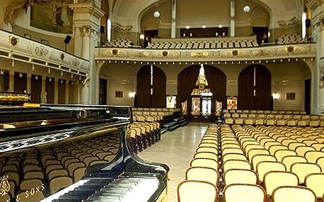 Vstupenka pro 1 osobu, koncert nejznámější melodie Mozarta & Vivaldiho ve Smetanově síni.