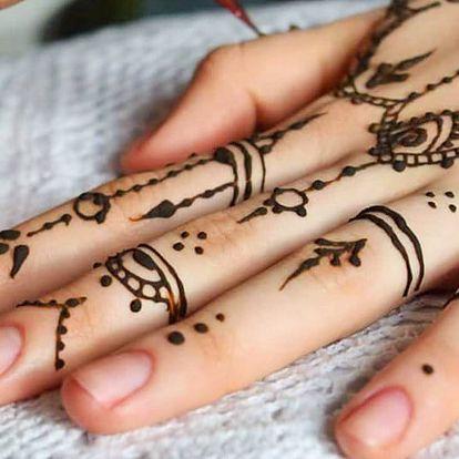 Workshop malování hennou: 3 termíny