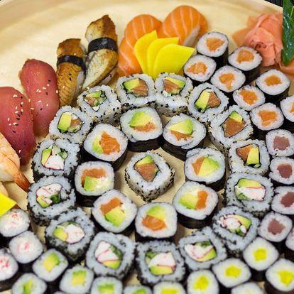 Sushi sety s sebou: 24–68 kousků pro dvě osoby