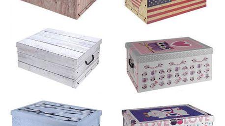 Úložný box dekorativní