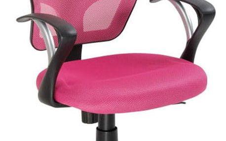 Kancelářská židle ZK23 ZK23 R-růžová
