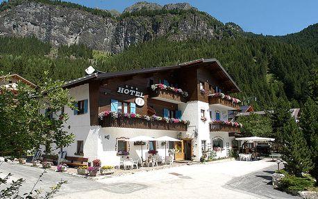 4–8denní Marmolada/Arraba | Hotel Villa Eden*** s polopenzí | Dítě zdarma | Wellness centrum zdarma | Vlastní doprava