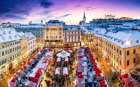 Adventní Bratislava | Jednodenní zájezd na vánoční trhy na Slovensku