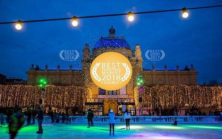 Adventní Záhřeb | 3denní zájezd na vánoční trhy do Chorvatska