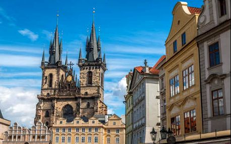 Podzim a zima v centru Prahy v dizajnovém hotelu Theatrino****