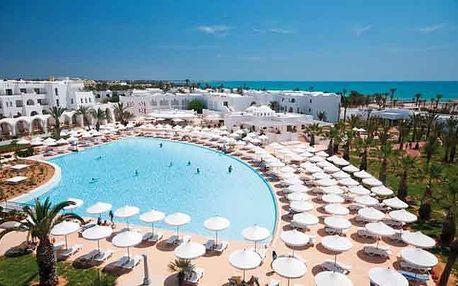 Tunisko - Djerba na 8 až 12 dní, all inclusive s dopravou letecky z Prahy přímo na pláži
