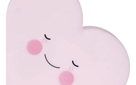 EEF lillemor Noční lampička Heart Pink, růžová barva, plast
