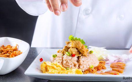 Kurz thajské kuchyně v Café Buddha