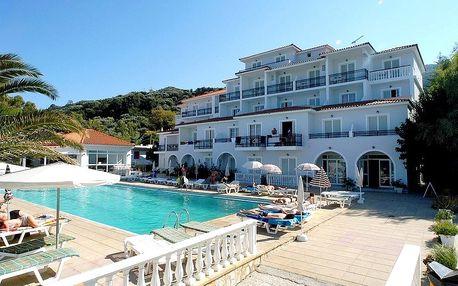 Řecko - Zakynthos na 8 dní, snídaně s dopravou letecky z Prahy přímo na pláži