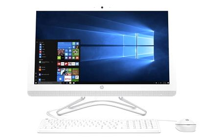 Počítač All In One HP AiO 24-e013nc bílý (2BZ77EA#BCM)