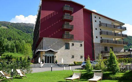 8denní Aprica | Hotel Cristallo club & Wellness**** | Vlastní doprava, ubytování, polopenze