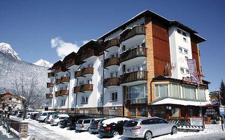 4–8denní Paganella se skipasem | Hotel Aurora*** s polopenzí | Dítě zdarma | Vlastní doprava