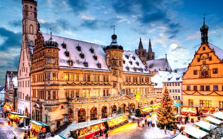 Advent v bavorském Rothenburgu | Jednodenní zájezd na vánoční trhy do Německa