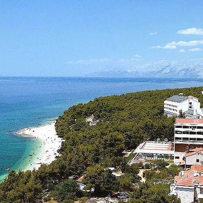 Chorvatsko - Makarská riviéra na 10 dní, plná penze nebo polopenze s dopravou autobusem 100 m od pláže